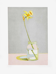 Daffodil, from Recent Etchings I , Wayne Thiebaud