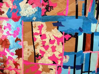 Detail: Fuschia, Carrie Dickason