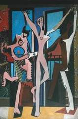 The Three Dancers   ,Pablo Picasso