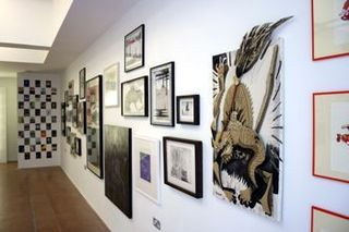 Exhibition view, Salon - Group how, Whitecross Gallery, London,