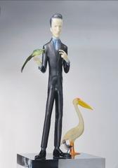 Marcel Duchamp with Birds, Yu Fan
