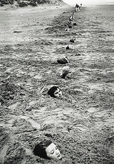Liverpool Beach Burial , Keith Arnatt