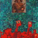 Lei_feng__mixed-media_on_canvas__150_x_120_cm__2007