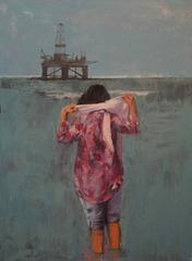 Oil on Platform, Amir Hossein Zanjani