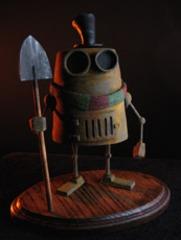 1800\'s Grave Digging Robot , Dave Pressler