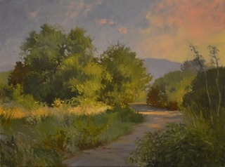 Early Morning, Rancho Santa Ana Botanical Garden,Debra Holladay