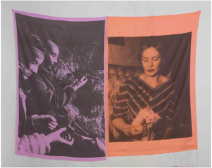 Untitled (IRA Lavender, Frances Farmer), Servane Mary
