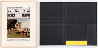 VARIABLE PIECE #70:1971 (IN PROCESS) GLOBAL, CROCODILE TEARS: Great Corrector (Mondrian VI), Douglas Huebler