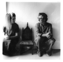 Portrait of Francesca Woodman and her father George Woodman, taken by Francesca Woodman. Untitled 1980 (New York),