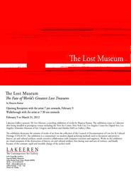 the lost museum, shaurya kumar