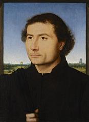 Portrait of a Man, Hans Memling