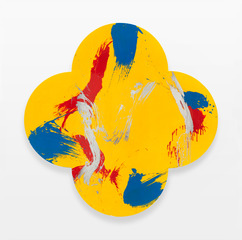 The Holy Grail,Max Gimblett