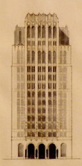 High-rise (logo of Western Architect), Bruce Goff