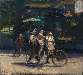 Bike Ride, Dennis Hare