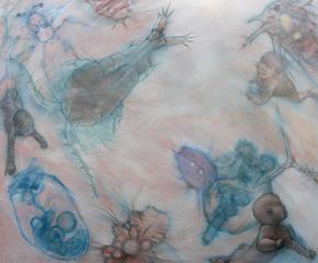 Swimming in the Primordial Pond, Ellen Litwiller