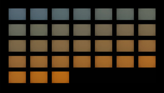White Balance Color Checker Card (Fluorescent), Kimberly Hahn