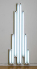 """monument"" for V. Tatlin,Dan Flavin"