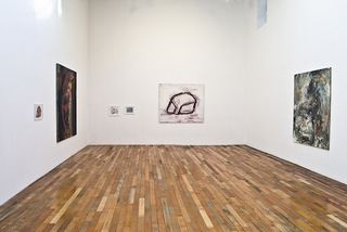 Routine, installation view, main room, Lex Braes