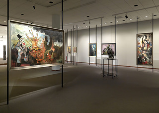 Installation view \'Der Geteilte Himmel. The Collection. 1945-1968.,