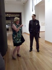 Paul Kuniholm Pauper and Alice Wheeler Discuss Seattle Art Museum Collections and Special Exhibits, Seattle Art Museum, July 9, 2010,
