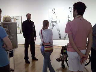 Paul Kuniholm Pauper Presents Contemporary Art History Of Andy Warhol\'s Double Elvis, July 9, 2010 At Seattle Art Museum,