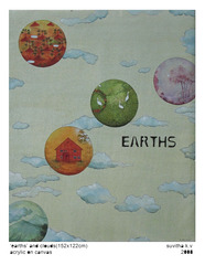 Earths and Clouds, Suvitha K.V