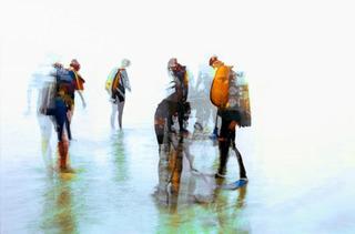 On the Beach Divers, John Reiff Williams