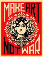 Peace Girl,Shepard Fairey