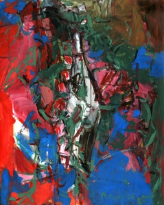 Wsmorris_splay_10_2006_mixed_media_on_heavy_paper_board_mounted_on_wood_32_x_40_inches