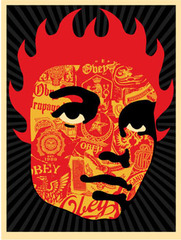 Collage Girl,Shepard Fairey