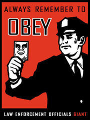 Obey Law Enforcement,Shepard Fairey