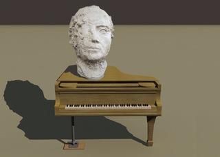 «Unfinished Symphony (Ich bin doch kein Mahler)» (image de simulation / rendering) , Elmgreen & Dragset