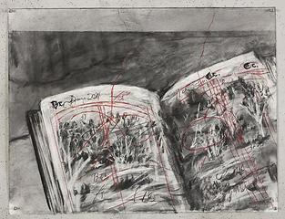 Drawing for \'Other Faces\',William Kentridge