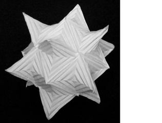 The \'Hyparhedra Cube\',