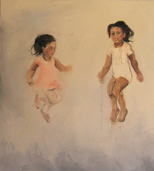 Girls Jumping, Claudia Alvarez