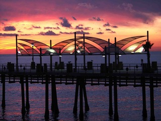 Pier Sunset, Tom Prettyman