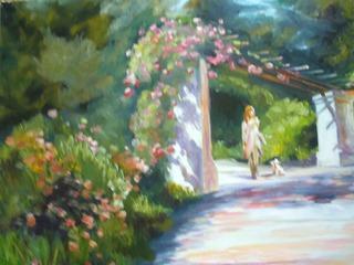 Vine Garden, Mercedes Guzman
