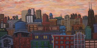 West Loop Cityscape, Kevin Swallow