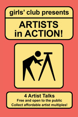 Artists in Action! 2012, artist talks, workshops and limited edition multiples,