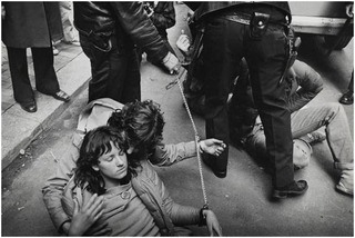 New York City, Police Arrest Political Protesters,Leonard Freed