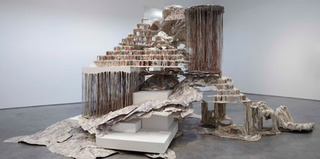 Trace of a Fictional Third,Diana Al-Hadid