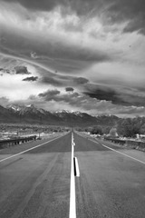 Heading toward Lone Pine, Beth Shibata