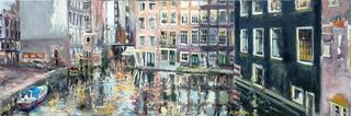 Armbrug richting Zeedijk, Amsterdam, Rob Jacobs