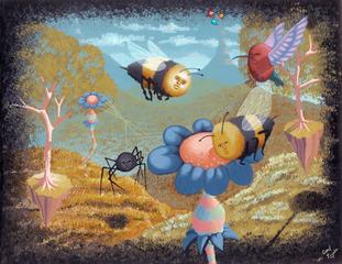 Birds & Bees, Carl Lozada