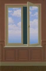 La lunette d'approche, René Magritte