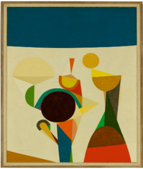 Growing game, #1,Frederick Hammersley