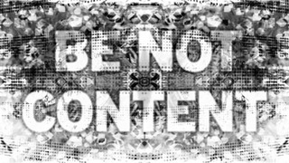 Be Not Content,Mark Titchner