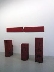 « Poutres » et « Planche », Bernard Aubertin