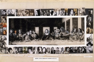 Some Living American Women Artists: Last Supper,Mary Beth Edelson