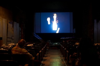 Second screening of Straight Up, for Show Follies center theater, New York,,Cécile B. Evans